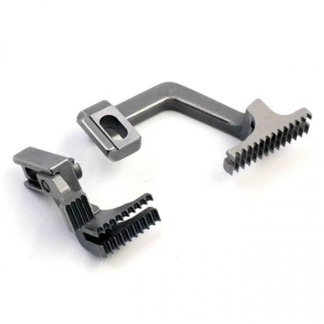 Зубчата рейка 20714008 для 3-ниткових оверлоків BRUCE BRC X5 / 5204-2